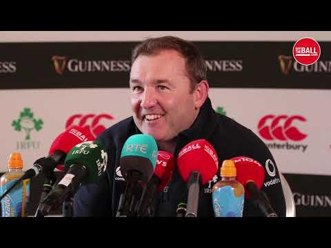 Richie Murphy talks Ireland injury updates and Joey Carbery at 10