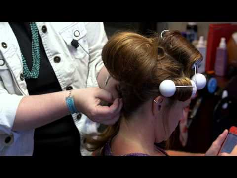 Stacy & Co. Vintage Inspired Updo