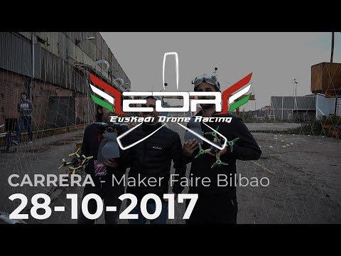 Carrera EDR - Bilbao Maker Faire 2017