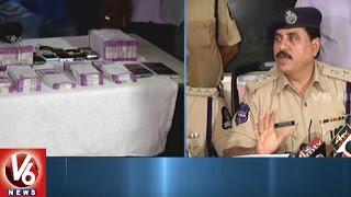 West Zone DCP Venkateswara Rao Speaks | CI Rajashekar Arrested for Illegal Currency Exchange | V6
