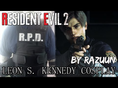 En Resident Evil 2 Remake Leon Cosplay Youtube