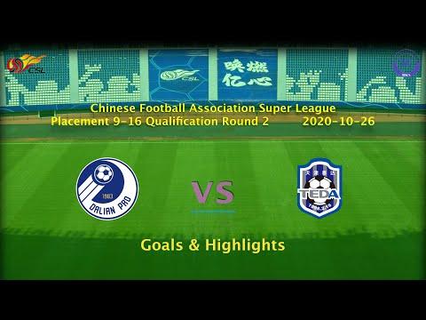 Dalian Pro Tianjin Teda Goals And Highlights