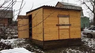 Летняя кухня 3х4.5м  на даче своими руками за 35000 т.рублей