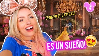 CENAMOS en EL CASTILLO de LA BELLA Y LA BESTIA! El Restaurant más CARO de Disney! 🏰😱 | 18 Ene 2019