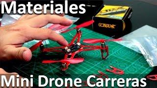 Materiales Para Hacer Un Mini Drone De Carreras - Construir Drone Barato