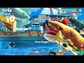 Tiger Shark Live Contest in Bay Special Map - Hungry Shark World