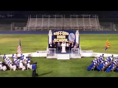 Abigail Montierth's Salutatorian Speech Safford High School 2016