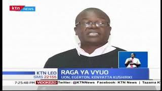 Timu nane zitashiriki katika Mashindano ya Ligi ya Raga ya Vyuo Vikuu | KTN News Leo