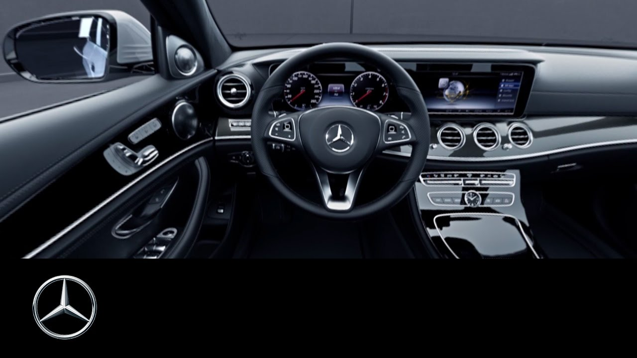 360 video of the e class interior view mercedes benz for Mercedes benz inside view