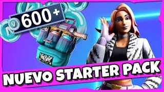 NEW SALVAGE PACKAGE Is it worth it? *STARTER PACK* FORTNITE / BATTLE ROYALE