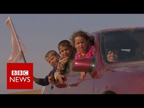 Mosul: On the run from IS - BBC News