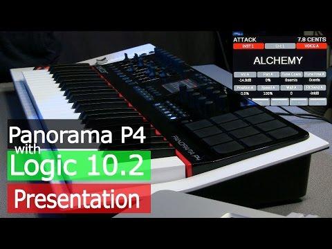 Nektar Panorama P4 Logic Pro 10.2 + Alchemy Integration