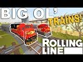 ALL THE COMPANIES!  -  Rolling Line VR Toy Train Simulator  -  Map