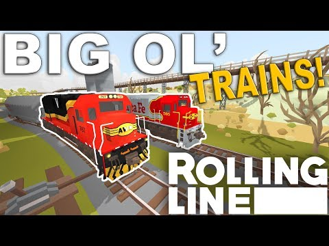 ALL THE COMPANIES!  –  Rolling Line VR Toy Train Simulator  –  Map