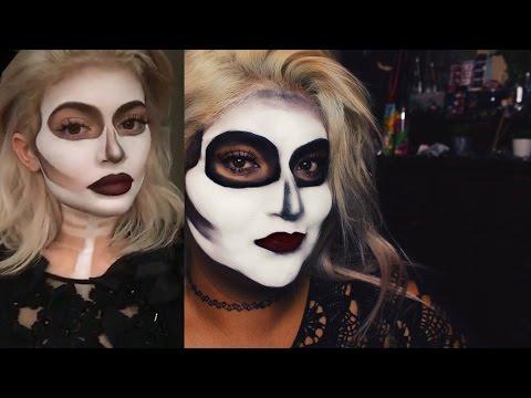 HALLOWEEN ASMR | Easy Kylie Jenner Inspired Skull, Gum-Chewing Rambles
