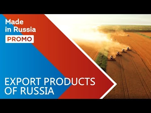 Made In Russia. Meet Export Products Of Russia. Promo Channel