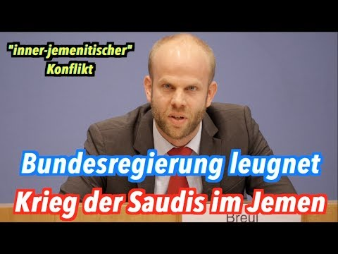 Bundesregierung leugnet Saudi-Arabiens Krieg im Jemen