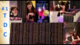 1st Big Book Signing: Teen authors sign #1 Int'l Sci-fi/Fantasy Bestseller The Dauntless Chronicles