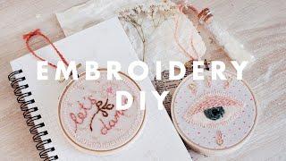 ☆ mini embroidery diy ☆