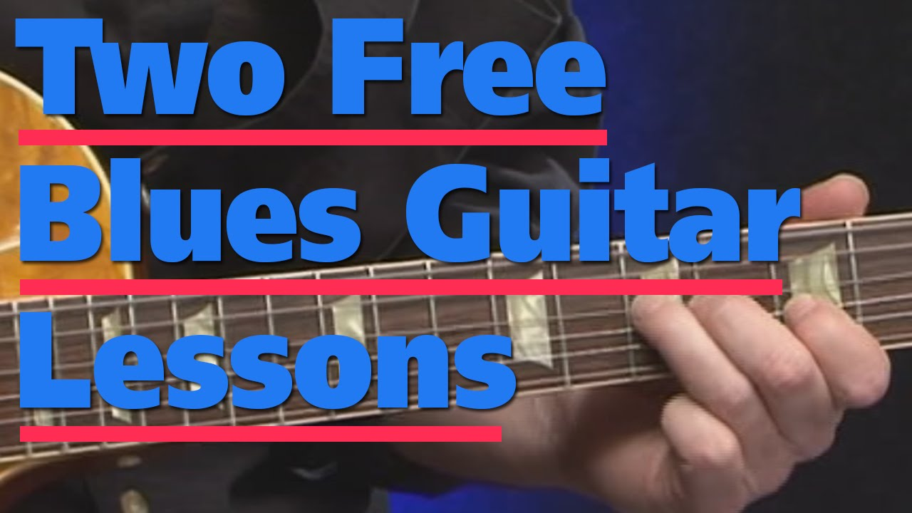 Free Guitar Lessons   Absolute Beginners Blues Guitar With ...