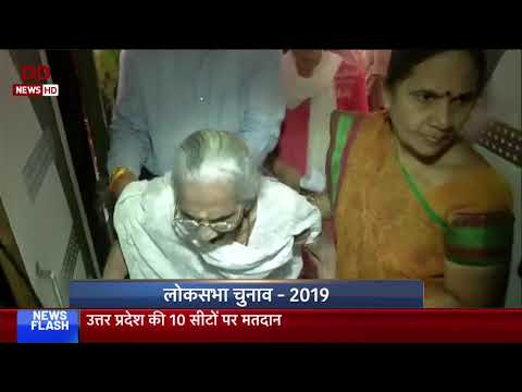 LS Election 2019: PM Modi's mother casts her vote