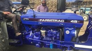 Farmtrac 45 tractor overview फार्मट्रैक ४५ ट्रैक्टर का विश्लेषण