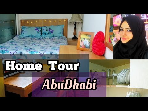 Home Tour In UAE / Studio Apartment In UAE / Zulfia's Recipes Home Tour