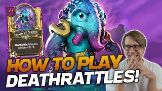 This is HOW YOU PLAY DEATHRATTLES! | Hearthstone Battlegrounds | Savjz