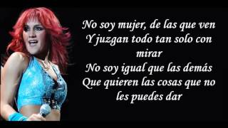 RBD - Santa no Soy (lyrics)