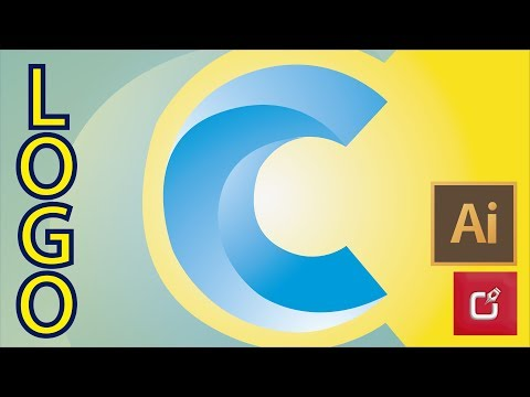ILLUSTRATOR CS6 TUTORIAL, How to Make Logo Design with Letters