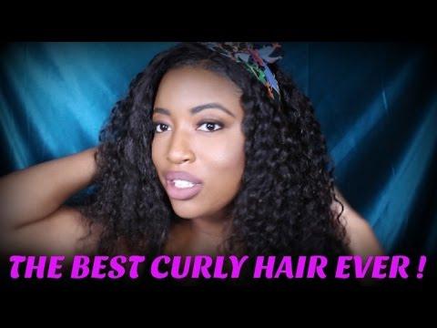 curly hair - virgin