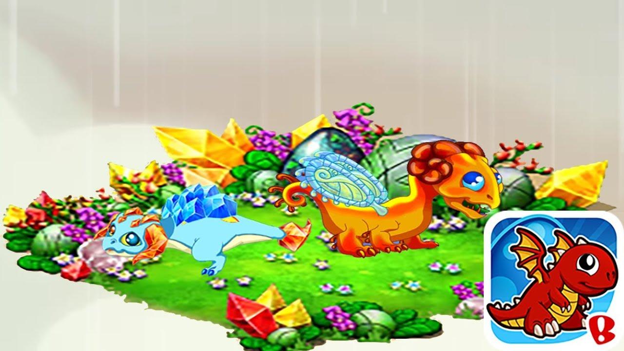 Dragonvale Mini: Ep. 24 Hatching Topaz & Amber Dragons