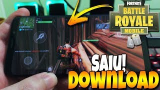 Left! FORTNITE FOR ANDROID! DOWNLOAD IN THE DESCRIPTION!