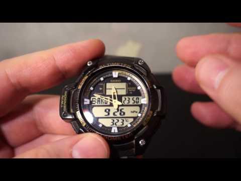 Супер часы CASIO No. 5176/барометр/альтиметр/градусник