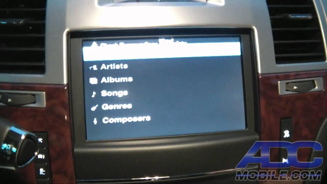 2012 Cadillac Ext Gm Navi Bypass Dvd Ipod Rear Cam Module