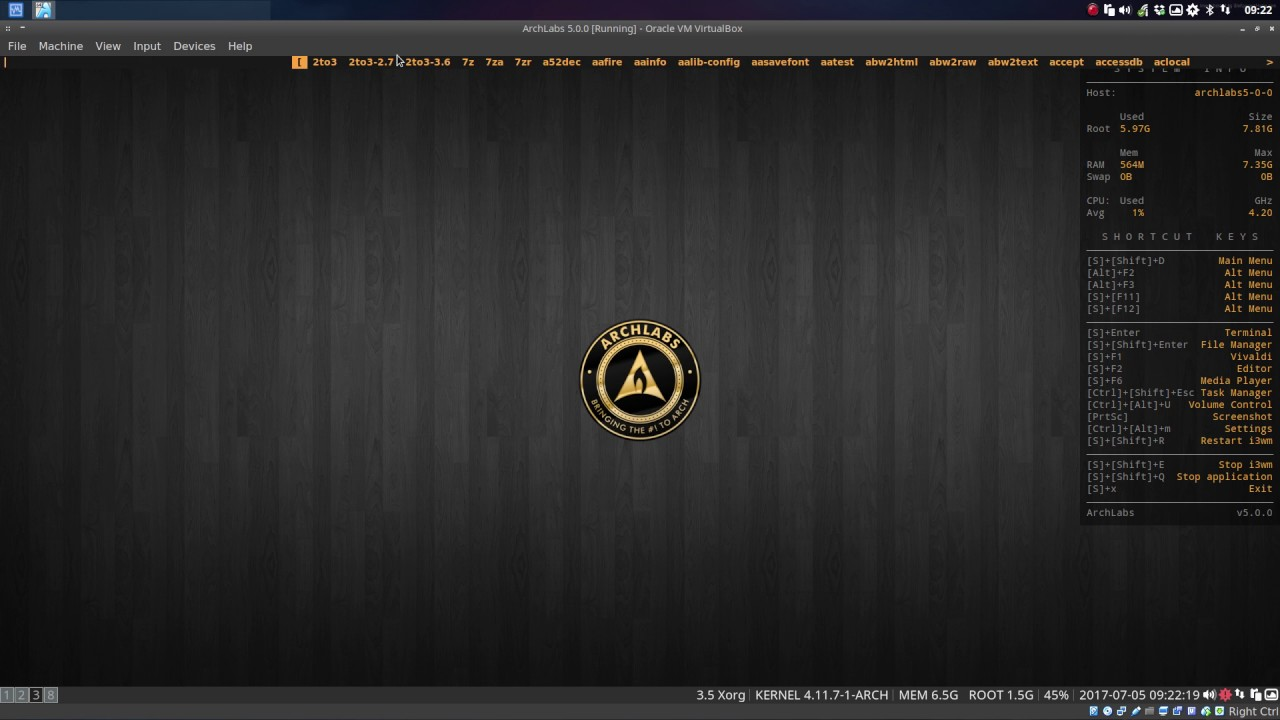 How to switch between openbox and i3 in ArchLabs   ERiK DuBoiS