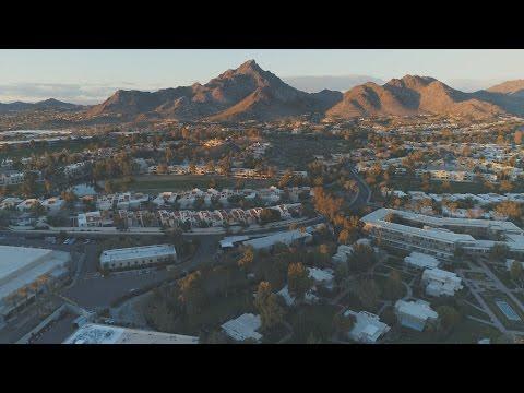 Aerial of NorthEast Phoenix