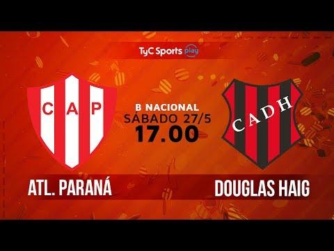 Primera B Nacional: Atlético Paraná vs. Douglas Haig | #BNacionalenTyC
