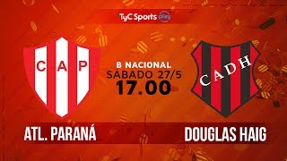 Atletico Parana vs Douglas Haig full match