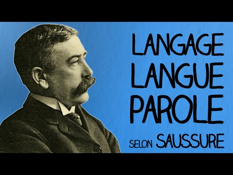 Langage Langue Parole (selon De Saussure) - Ma Langue dans Ta Poche #1