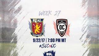 USL LIVE - Real Monarchs SLC vs Orange County SC 9/22/17 thumbnail