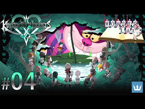 #04 - KINGDOM HEARTS χ [chi] - English Walkthrough — Wonderland, Part 1