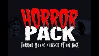 January 2018 DVD Horror Pack unboxing