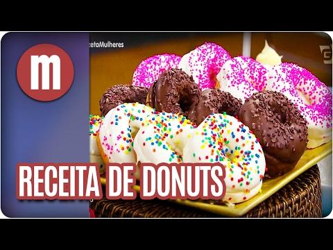 Receita de donuts - Mulheres (21/02/17)