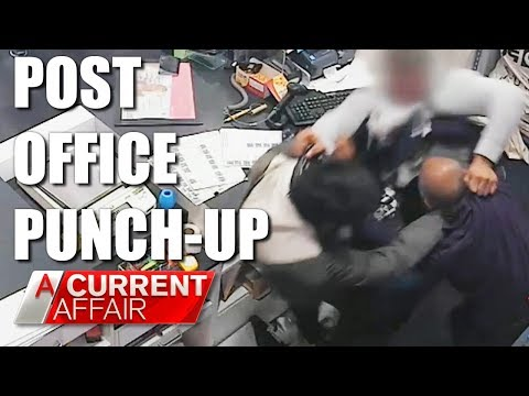 Post Office Punch-up | A Current Affair Australia