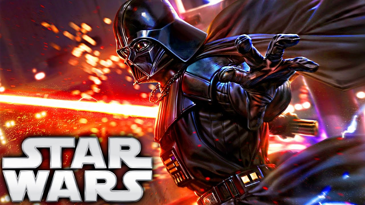 How Darth Vader Got His Red Lightsaber (Legends)