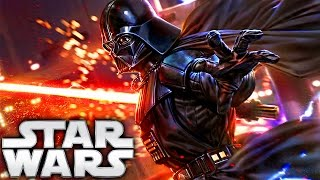How Darth Vader Got His Red Lightsaber (Legends) - Star Wars Explained