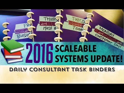 Scaleable Systems 2016: Daily Scentsy Task Binders (Files in caption!)