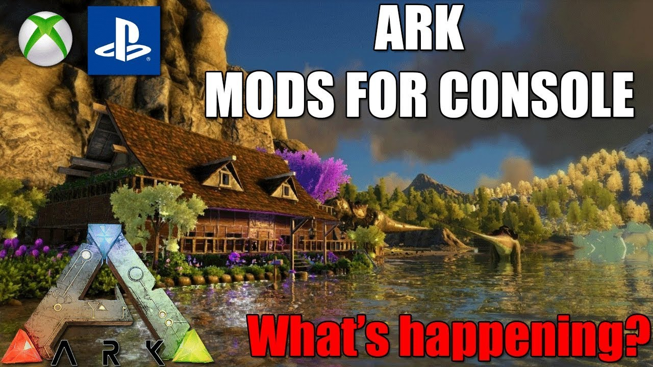 ARK - MODS FOR CONSOLE! - S+ Mod FOR CONSOLE? - What's Happening?! -  XBOX/PS4