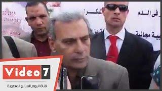 """جابر نصار فى كلمته بـ""""يوم السكر العالمى"""": المصريين بيخافوا يكشفوا أو يحللوا"""